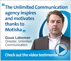 Guus Lakeman, Unlimited Communication - The Unlimited Communication agency inspires and motivates thanks to the Motisha platform.